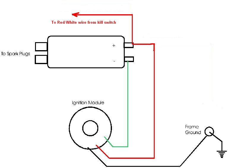 xs650 coil wiring question on how to wire the pamco. 6822 coil. can green ...