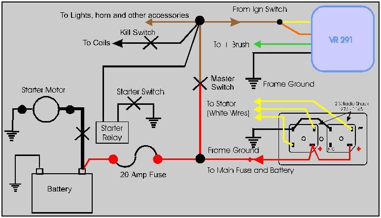 combo4 just a bare bones wiring diagram? welcome to the xs 650 garage usa bare bones wiring harness at edmiracle.co