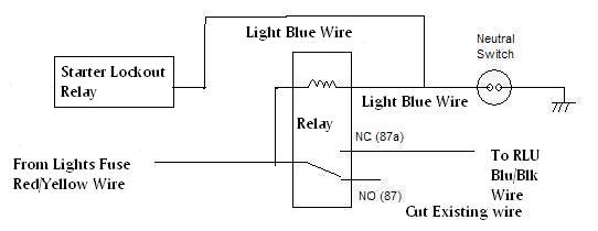 neutral2 how do i wire my headlight to the neutral switch?? yamaha xs650 86 lockout relay wiring diagram at crackthecode.co