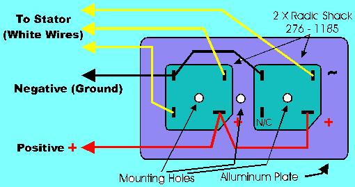 xs650 simple wiring diagram solid state rectifier on the cheap yamaha    xs650    forum  solid state rectifier on the cheap yamaha    xs650    forum