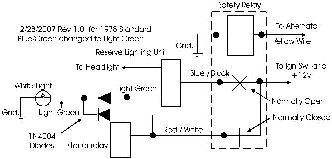 xs650 safety relay wiring xs650 free engine image for user manual